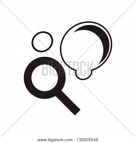 design baby icon toys_Black vector illustration logo