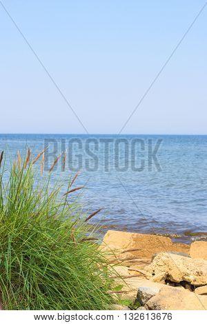 Sea Ocean And Beach. Seaside.