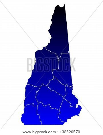 Map Of New Hampshire