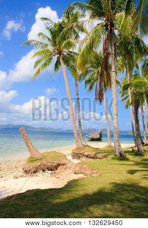 Landscape of El Nido. Palawan island. Philippines.