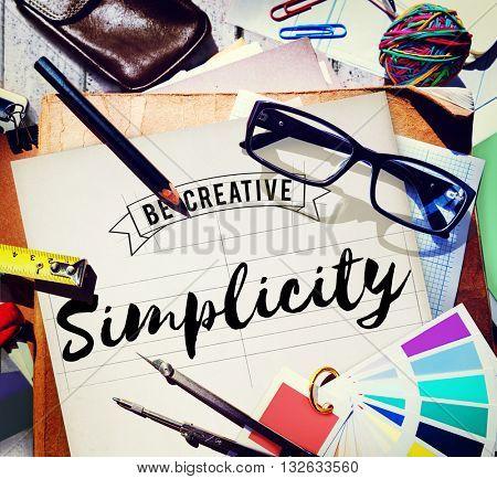 Simplicity Minimal Modern Normal Peace SImple Concept