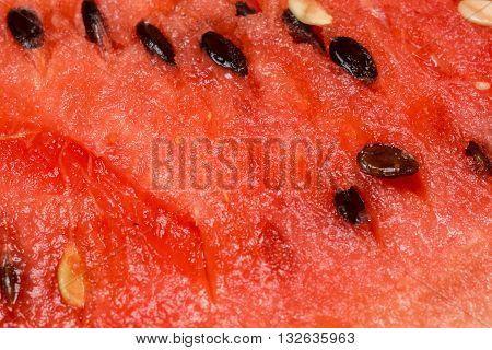 Juicy Watermelon Flesh