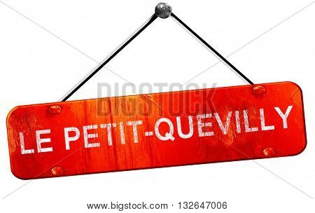 le petit-quevilly, 3D rendering, a red hanging sign