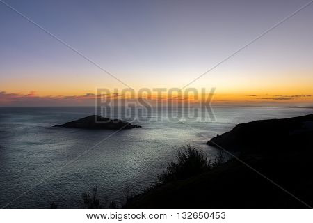 Sunset At The  Crystalline Beaches Of Pontal Do Atalaia