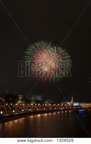 A Firework Near The Kremlin #2