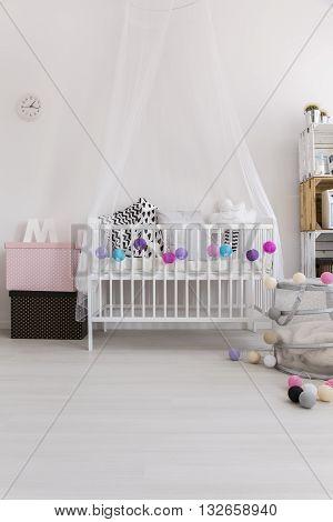 Cute Bedroom Of Little Princess