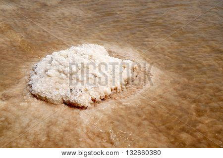 Dead Sea salt crystals
