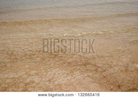 Waves of Dead Sea