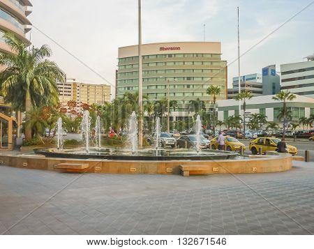 Modern Buildings Guayaquil Ecuador