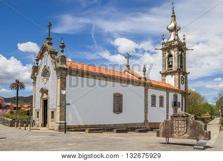 Santo Antonio Da Torre Velha Church In Ponte De Lima