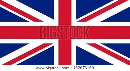 Official United Kingdom vector flag