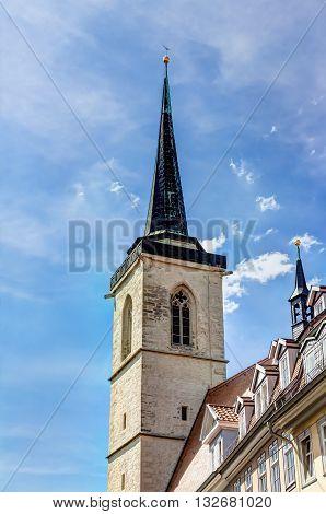 All Saints' Church In Erfurt