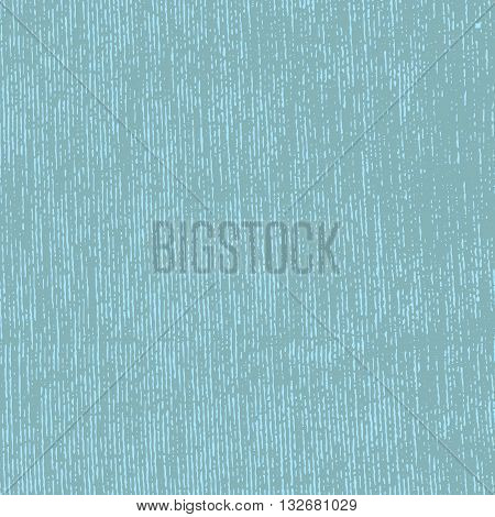 Vector grunge striped textile fabric in blue color