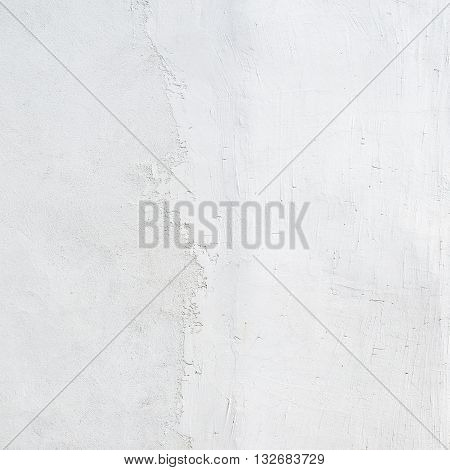 abstract white stucco painted wall texture background