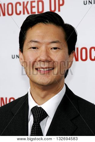 Ken Jeong at the Los Angeles premiere of 'Knocked Up' held at the Mann Village Theatre in Westwood, USA on May 21, 2007.