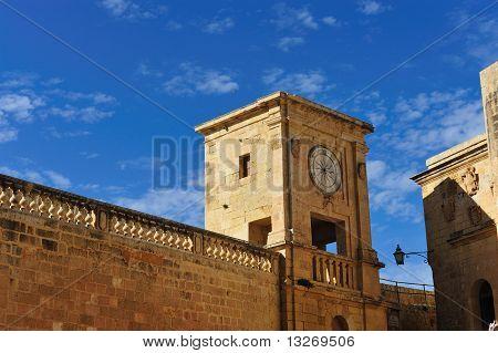Details from the Citadella at Rabat Gozo Malta