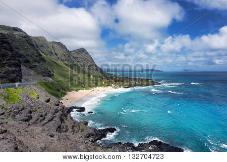 Blue Oahu Hawaii with lots of room for your type.