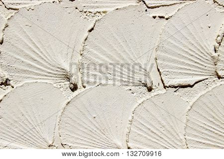 Background of the cement wall is plaster rough styleCement wall pattern plaster rough style background