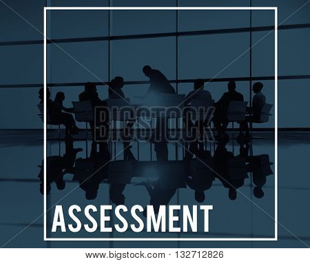 Assessment Analysis Evaluation Inspection Validation Concept