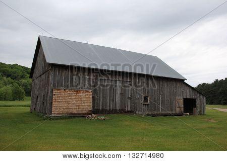 A barn in Port Oneida Rural Historic District, Sleeping Bear Dunes National Lakeshore, Michigan