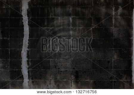 old dark brick background. old dark brick texture