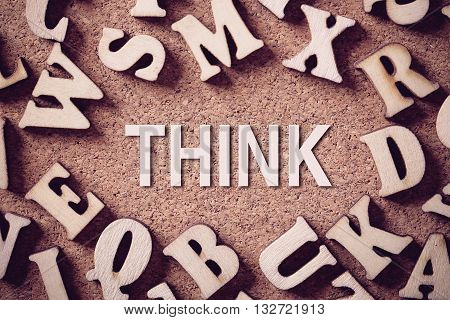 Think Concept Word