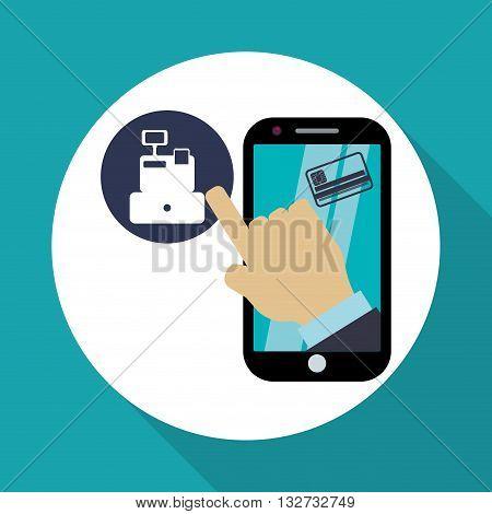 Invoice concept with icon design, vector illustration 10 eps graphic.