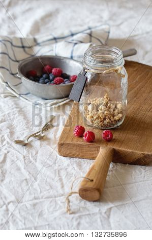 Granola With Berries