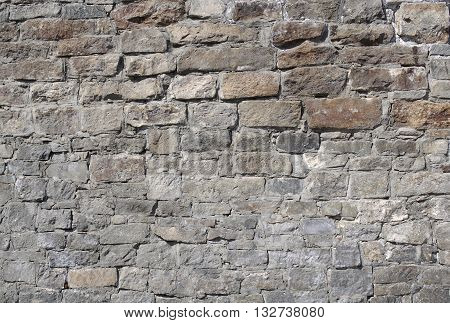 Texture of the masonry as a background