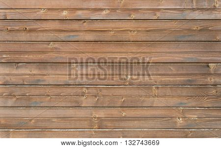 Background from the wooden planks laid horizontally.