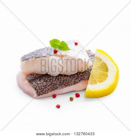 Hake Fillet With Skin And Lemon