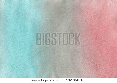 Abstract Pink, Grey And Blue Watercolor Background