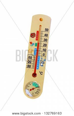 Thermometer thermostat instrument to measure air temperature