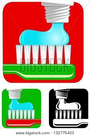 emblem for dental hygienist, or other tooth doctor