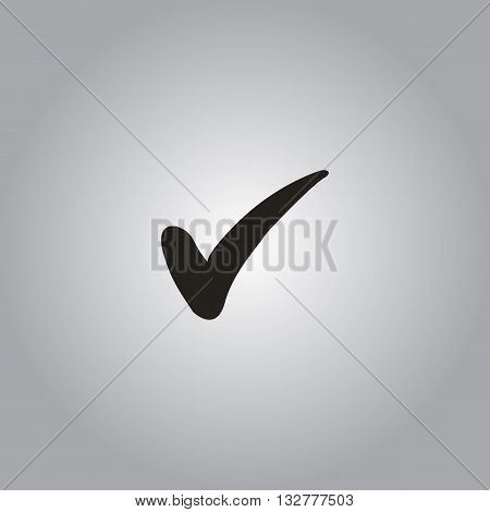 confirm icon check mark symbol vector checkbox