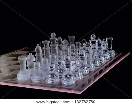 Opposite Pieces Of Chess Piece On Chess Board