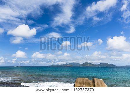 La Digue North Coast, Seychelles