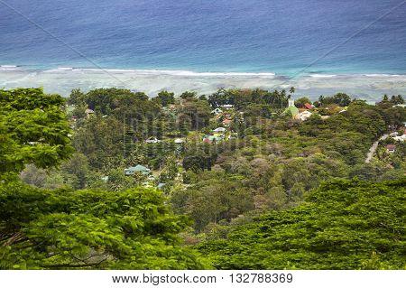 La Digue Coastline, Seychelles