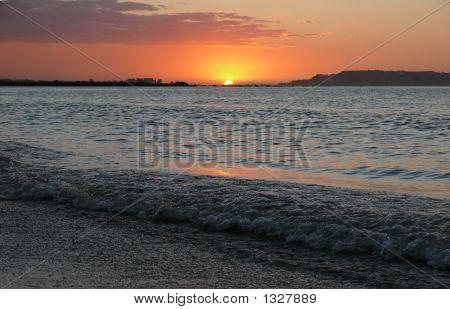 Evening On Sea