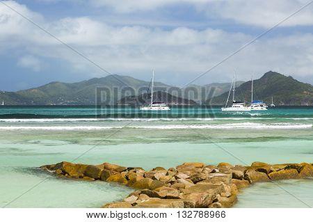 Seychelles Beach, La Digue