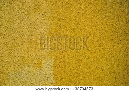 a concrete wall yellow background for designer