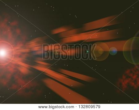 Laser and sun Burst illustration background graphic