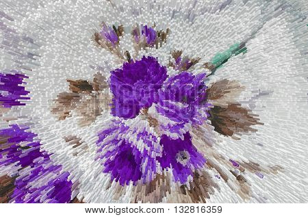 abstract floral background extrusion fabric texture colorful