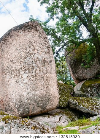 Rocks Of Ancient Megaliths Beglik Tash, Bulgaria
