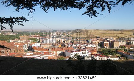 Travel Destinations : Old town of Burgos, Spain .