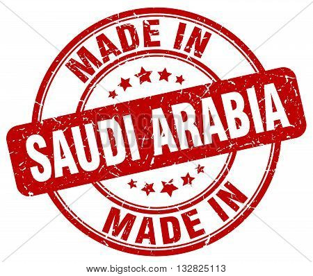 made in Saudi Arabia red round vintage stamp.Saudi Arabia stamp.Saudi Arabia seal.Saudi Arabia tag.Saudi Arabia.Saudi Arabia sign.Saudi.Arabia.Saudi Arabia label.stamp.made.in.made in.