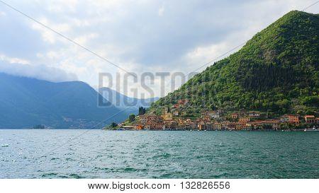 Lake Panorama From