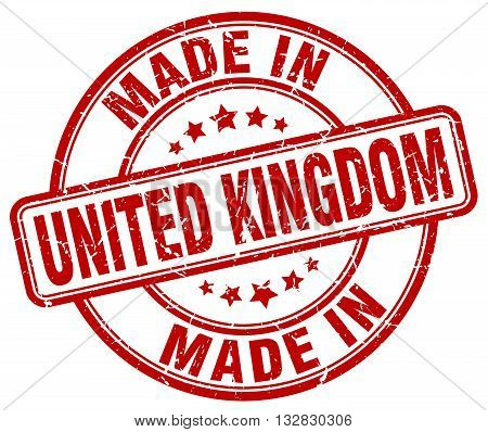 made in United Kingdom red round vintage stamp.United Kingdom stamp.United Kingdom seal.United Kingdom tag.United Kingdom.United Kingdom sign.United.Kingdom.United Kingdom label.stamp.made.in.made in.