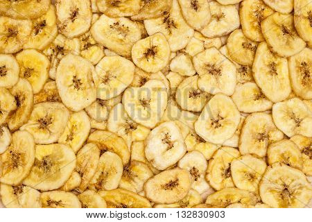 Banana Chips For Background