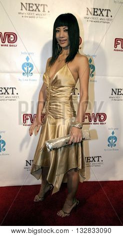 Bai Ling at the 2nd Semi Annual Fashion Wire Daily's event NEXT at Mondrian Hotel's SkyBar in West Hollywood, USA on October 25, 2004.